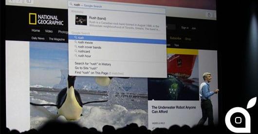 Apple e Google: aumentano le distanze col gigante della ricerca in iOS 8 e Yosemite