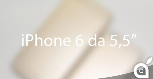 Nuovo mockup per l'iPhone 6 da 5,5 pollici