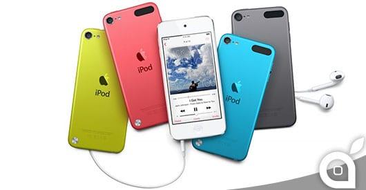 In arrivo un nuovo modello di iPod Touch entry-level da 199$ con fotocamera posteriore e sei colorazioni!