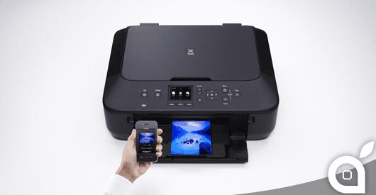 Canon PIXMA MG5550 scontata del 48%: Stampante a colori multifunzione Wi-Fi ideale per iPhone ed iPad