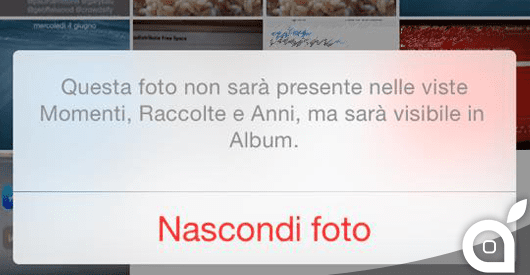 ispazio-mr-ios8-nascondi foto-home