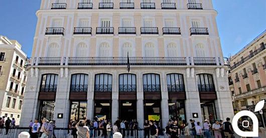 Apple inaugura lo store europeo numero 101: Puerta del Sol a Madrid