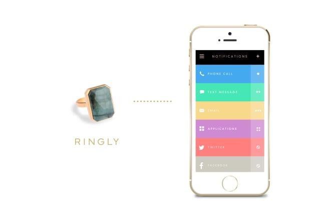 Ringly presenta l'anello intelligente, un nuovo dispositivo indossabile [Video]