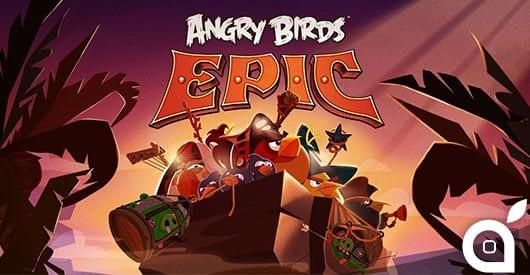 Il nuovo Angry Birds Epic sbarcherà finalmente su App Store il 12 Giugno [Video]