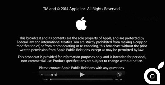 WWDC 2014: Keynote disponibile in streaming sul sito ufficiale Apple