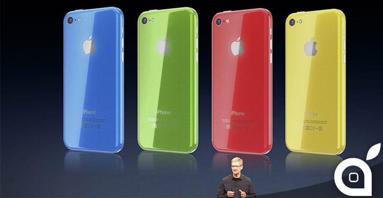 L'iPhone 5C è quello che registra il maggiore incremento di vendite!