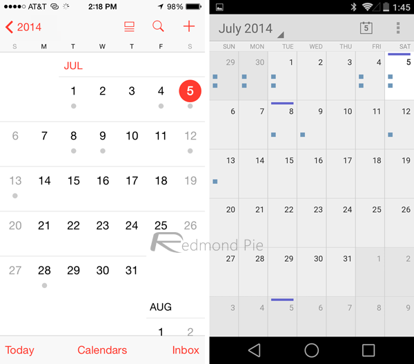 Google Home With Ios Calendar