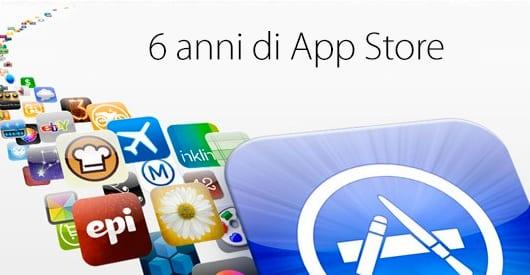 Apple festeggia il sesto anniversario dell'App Store: Tanti auguri!