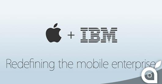Apple ed IBM da oggi collaborano per trasformare la mobilità aziendale, con soluzioni per iPhone ed iPad