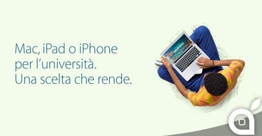 """Apple lancia il """"Back To School 2014"""": Ecco tutti i dettagli"""