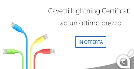 Cavi Lightning certificati Apple a prezzi molto convenienti!