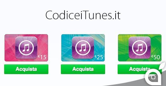 codiceitunes.it