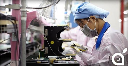 L'impegno di Foxconn per la produzione di massa dei prossimi iPhone