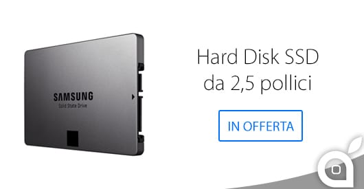 Hard Disk Samsung SSD da 1TB e da 250 GB in offerta su Amazon