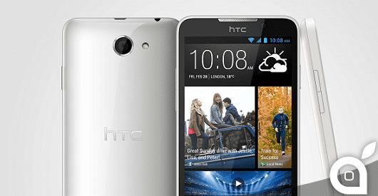 HTC lancia il Desire 516, simile all'HTC One ma in plastica ed economico, proprio come l'iPhone 5C