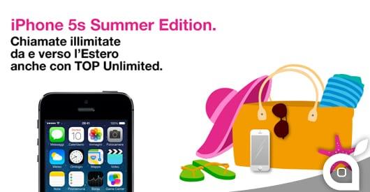 """3 Italia lancia la """"Summer Edition"""", per acquistare l'iPhone 5S risparmiando"""
