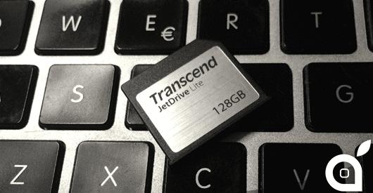 Transcend JetDrive Lite, la nuova soluzione per espandere la memoria del MacBook fino a 128GB con un gesto – La Recensione di iSpazio
