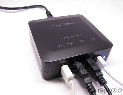 iSpazio sconta il caricabatterie RAVPower per iPhone ed iPad: potente ed 'intelligente' – La Recensione di iSpazio