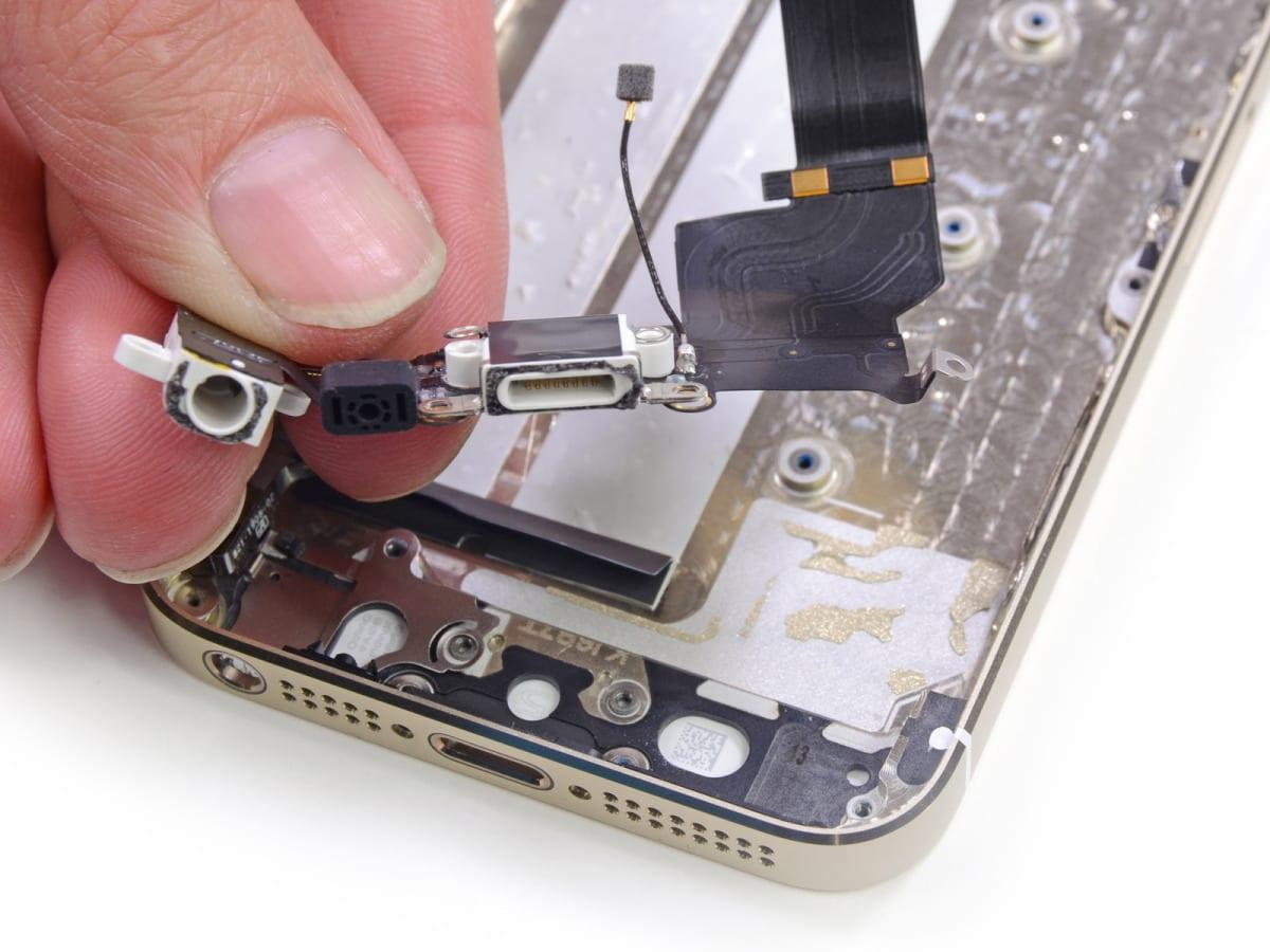 Ремонт разъема шлейфа телефона