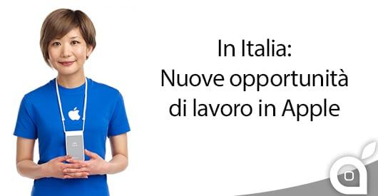 Apple assume nuovo personale in Italia