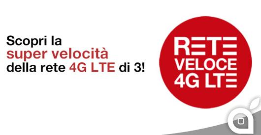 H3G proroga l'opzione LTE ad 1€ al mese per tutto il 2014