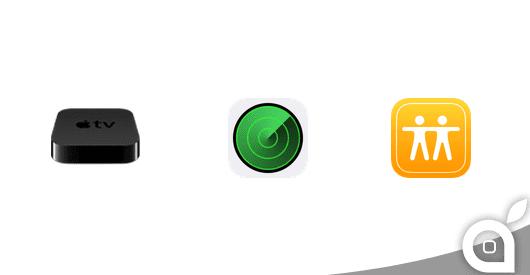 Apple rilascia una nuova beta di OS X Yosemite, Trova il mio iPhone, Trova i miei Amici e Apple TV