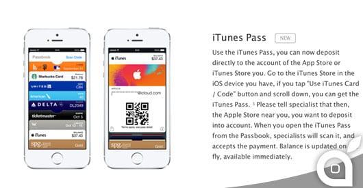 Apple lancia iTunes Pass, un nuovo metodo per ricaricare gli Apple ID