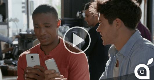 Il nuovo spot di Samsung prende di mira il display più grande di iPhone 6 [Video]