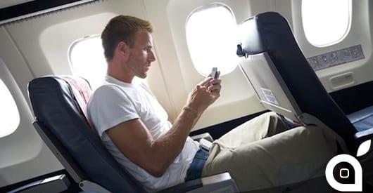 Anche per i voli verso il Regno Unito vigerà l'obbligo di avere gli smartphone carichi e funzionanti