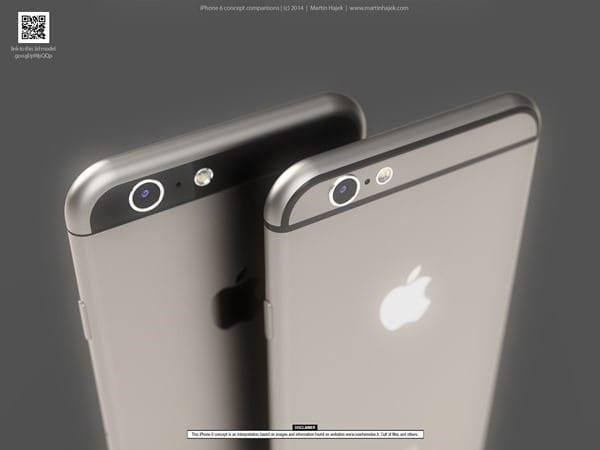 iPhone 6 si mostra in due design diversi, quale di questi è il TUO iPhone?
