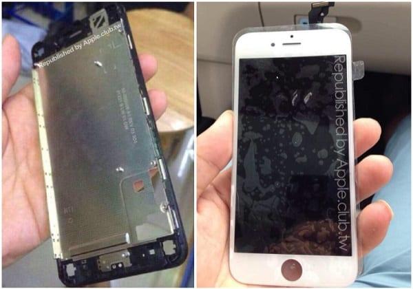 Appaiono in rete nuove foto del pannello frontale di iPhone 6