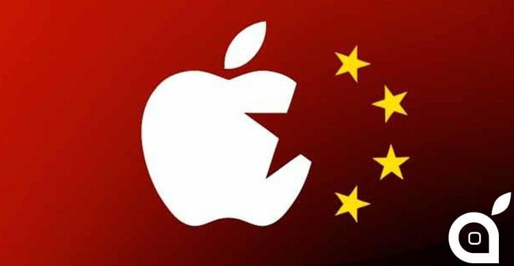 I device Apple vietati nella politica cinese per questione di sicurezza