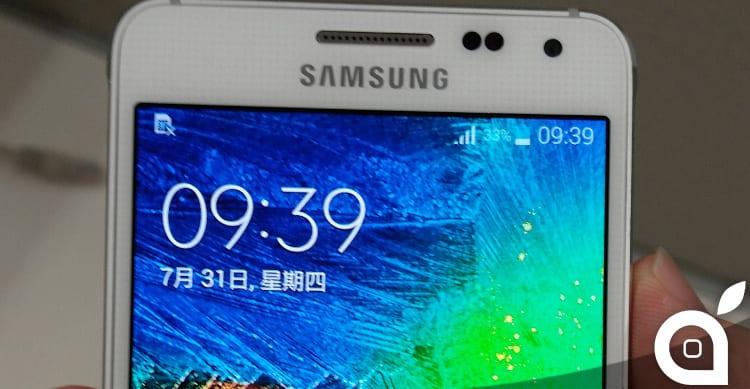Svelate le caratteristiche tecniche di Samsung Galaxy Alpha, il probabile rivale di iPhone 6
