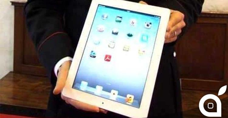 iPad rubato