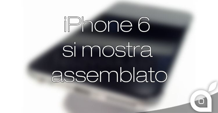 iPhone 6 assemblato