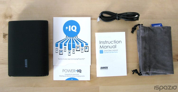 iSpazio-MR-Anker Astro3 PowerIQ-packaging