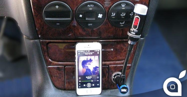 Come collegare l'iPhone a qualsiasi autoradio con August CR225. In sconto con iSpazio!