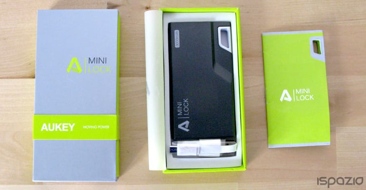iSpazio-MR-Aukey-Mini Lock Powerbank-packaging