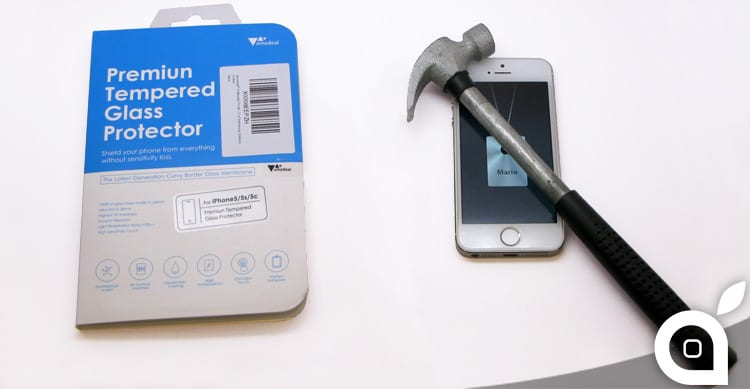 deals iSpazio sconta la protezione in vetro temperato Amzdeal per lo schermo dell'iPhone – La Recensione di iSpazio