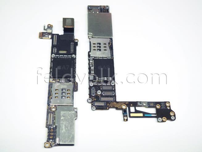Nuove immagini mostrano la scheda logica, il processore A8 e il chip NFC di iPhone 6