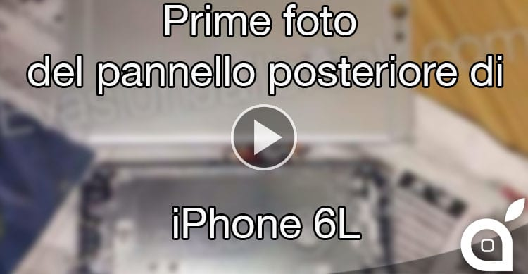 pannello posteriore iPhone 6L