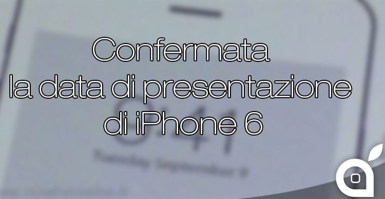presentazione iPhone 6