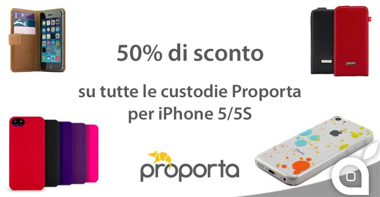 Tantissime cover e custodie per iPhone con sconti del 50%! Solo per 24 ore