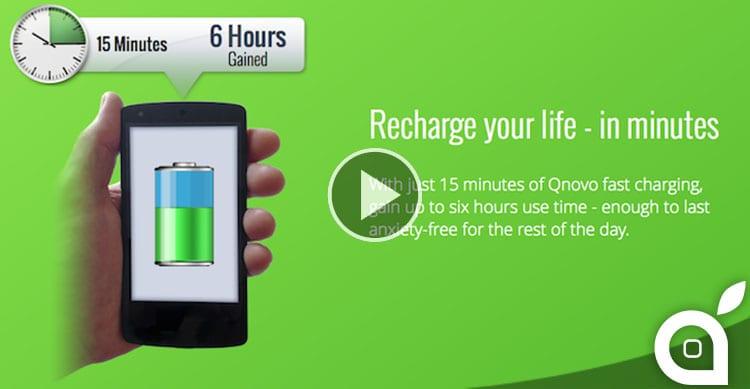 ricarica rapida batteria