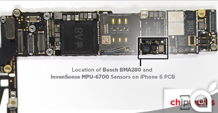 accelerometro iPhone 6