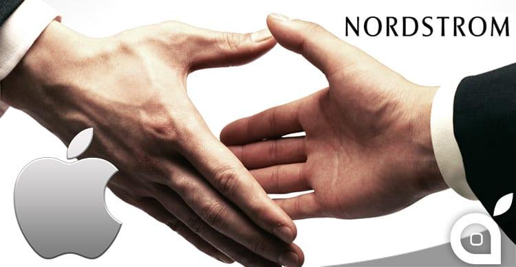 Apple in trattativa con Nordstrom per lanciare la nuova piattaforma di pagamento