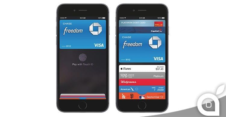 Apple riceverà una commissione per ogni pagamento fatto con Apple Pay