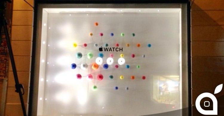 Apple Watch si mostra in anteprima alla boutique Colette di Parigi