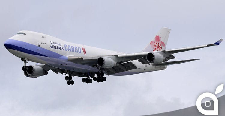 Un Boeing 747 trasporta 200'000 iPhone 6 in viaggio dalla Cina