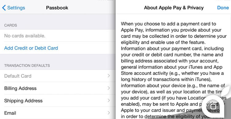 iPad apple pay touch id